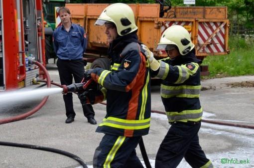 Brandweer oefening met politie-4