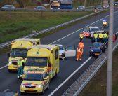 Meerdere voertuigen betrokken bij ongeval A7, weg afgesloten