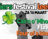 Zaterdag 16 maart 2019 Iers Festival Leek in Sportcentrum Leek