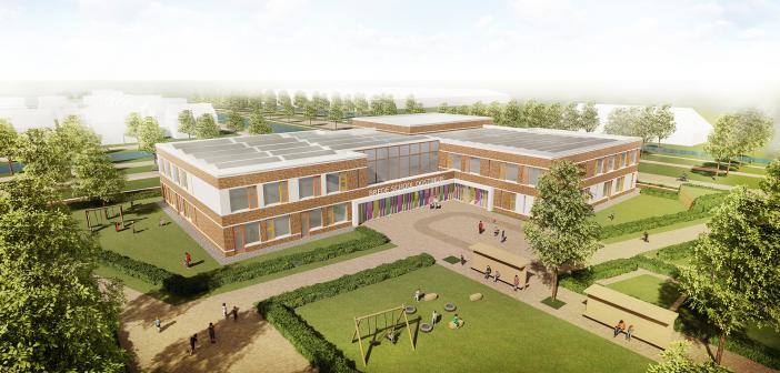 Violier is de naam van de nieuwe brede school in Oostindie Leek