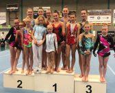 Zes medailles voor Adonis Sportacrobatiek tijdens het Open Fries Kampioenschap