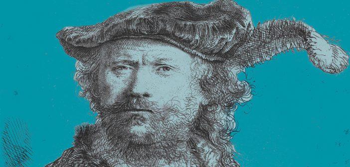 Speciale Rembrandt van Rijn reproductie in Tolbert, 350 jaar na overlijden