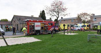 Brandweer vindt overleden vrouw in woning tijdens keukenbrand in Leek