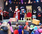 Sinterklaas en zwarte pieten aangekomen in Leek (Video)